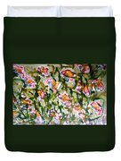 Divine Blooms Duvet Cover