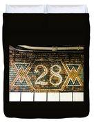 28th Street Duvet Cover
