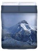 2d07513 Fresh Snow On Mt. Mccaleb Duvet Cover