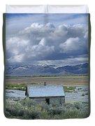 2d07515 Abandoned Cabin Duvet Cover