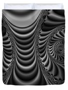 2x1 Abstract 435 Bw Duvet Cover