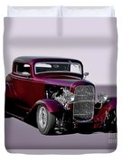 1932 Ford 'three Window' Coupe   Duvet Cover