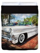 1959 Lincoln Continental Town Car Mk Iv Painted  Duvet Cover