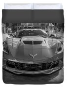 2015 Chevrolet Corvette Zo6 Painted  Duvet Cover