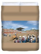75th Ellensburg Rodeo, Labor Day Duvet Cover