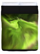 Abstract Aurora Duvet Cover