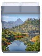 Adam's Peak - Sri Lanka Duvet Cover