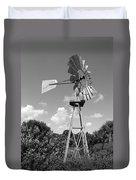 Aermotor Windmill Duvet Cover