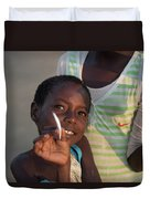 Africa's Children Duvet Cover