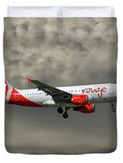 Air Canada Rouge Airbus A319-114 Duvet Cover