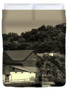 Amish Country Duvet Cover