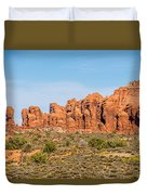 Arches National Park  Moab  Utah  Usa Duvet Cover