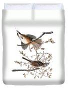 Audubon: Sparrow, (1827-38) Duvet Cover