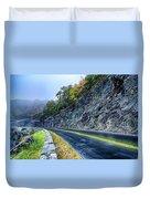 Autumn Colors In The Blue Ridge Mountains Duvet Cover