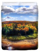 Autumn In Arrowhead Provincial Park Duvet Cover