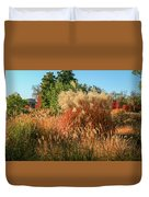 Autumn In Forest Park St Louis Missouri Duvet Cover