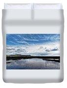 Back Beach 2 - Lyme Regis Duvet Cover