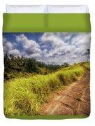 Bali Landscape Duvet Cover