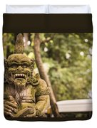Bali Sculptures Duvet Cover