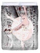 Ballet Duvet Cover