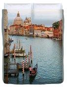Basilica Di Santa Maria Della Salute, Venice, Italy Duvet Cover