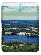 Beautiful Wisconsin Dells Duvet Cover