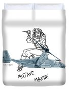 Bell Boeing Cv-22b Osprey Mojave Maude Duvet Cover