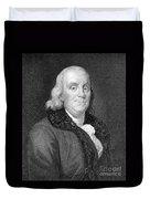 Benjamin Franklin (1706-1790) Duvet Cover