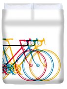Bike Art Duvet Cover