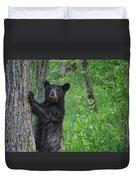 Black Bear Yearling Duvet Cover