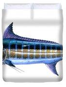 Blue Marlin Duvet Cover