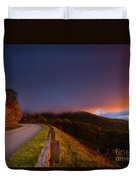 Blue Ridge Parkway. Duvet Cover