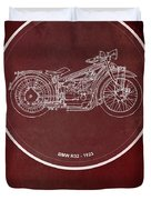 Bmw R32 1923 - For Some There's Therapy, For The Rest Of Us There's Motorcycles Duvet Cover