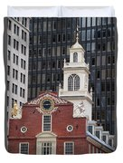 Boston Old State House Duvet Cover