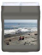 Cape Elizabeth, Maine Duvet Cover