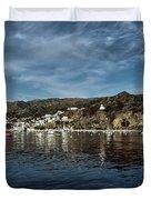 Catalina Island Duvet Cover