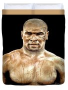 Champion Boxer And Actor Mike Tyson Duvet Cover