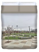 Charlotte Nc Downtown Duvet Cover