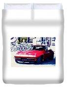 Chevrolet Corvette Duvet Cover