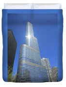 Chicago Skyscraper Duvet Cover