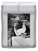 Chimpanzee Duvet Cover
