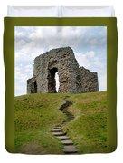 Christchurch Castle Duvet Cover