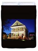 Christmas Village Duvet Cover