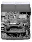 Old And Forgotten - Bw Duvet Cover