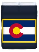 Colorado Flag Duvet Cover