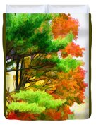 3 Colors Of The Nature 1 Duvet Cover