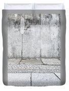 Concrete Background Duvet Cover