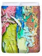 Cracked Paint Duvet Cover