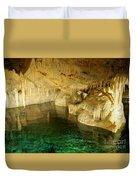 Crystal Cave In Hamilton Parish Bermuda Duvet Cover