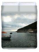 Cunski Beach And Coastline, Losinj Island, Croatia Duvet Cover